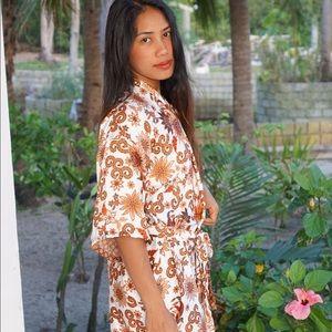 Silk Balinese Robe✨